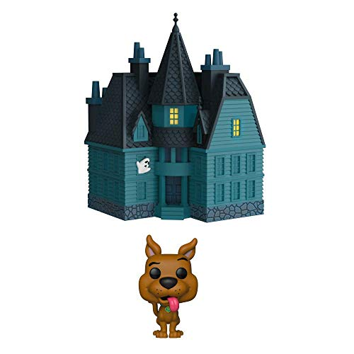 Funko- Figurines Pop Vinyle: Town: Scooby Doo-Haunted Mansion Collection,  40203, Multicolore