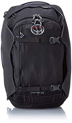 Osprey Porter 65, colore: Black