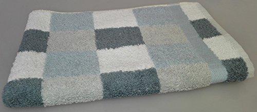 Set asciugamani in spugna - Cogal - Disegno Boston - MADE IN ITALY. Coordinato 1+1, ospite 40x60 cm + salvietta 60x100 cm, 650 gr/mq.