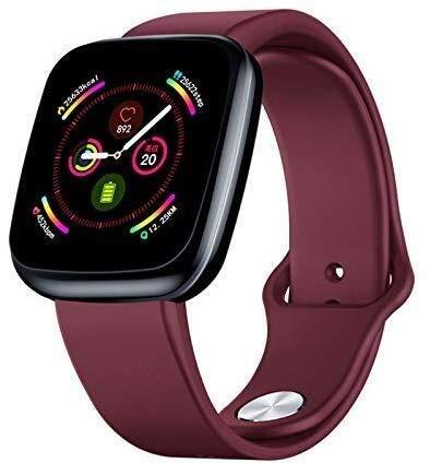 Rastreador de ejercicios con monitor de ritmo cardíaco, reloj Smart Watch de 1,3 pulgadas pantalla...