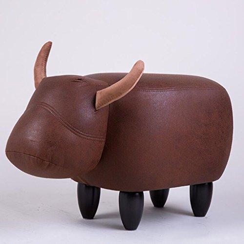 Sofa Hocker Xuan - Worth Having Rote kreative Kalb-Art, die einen Schuh-Schemel-Haus für Schuh-Hocker-Speicher-Hocker Moderne Einfachheit trägt (Design : Ordinary Section) -