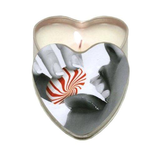Essbare Massage-kerze (Earthly Body 3 in 1 Essbaren Massagekerze - Minze, 1 Stück)