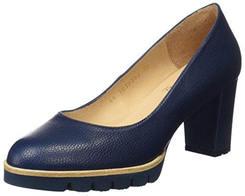 Blu Marrone nicamex Chiuse Gadea Tacco Ladies Scarpe Con 40544 Zw6pF0