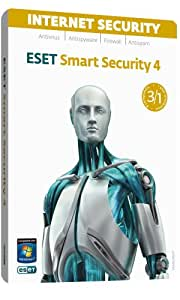 ESET Smart Security (2010) PC |3 user/1 year| DVD