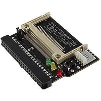 Homeofying - Tarjeta convertidora estándar compacta de Flash CF a 3,5 Hembra IDE para Ordenador portátil Negro
