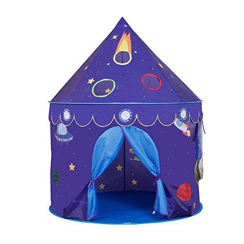Fastar Kinder Spielzelt Castle Play Zelte Playhouse tragbar faltbar Platz Zelt, ideal für Innen- und Außeneinsatz, beste Geschenk für Mädchen und Jungen