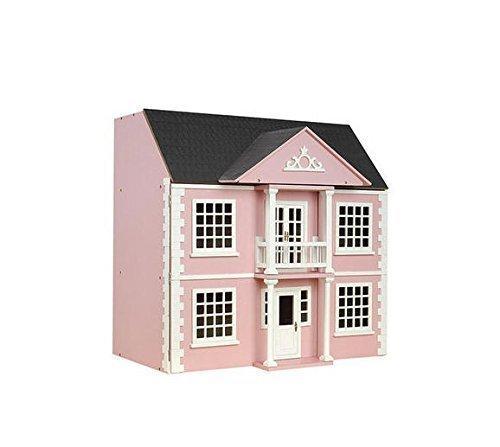 SA-Dolls House DH033PP Newnham Manor Paintet Fucsia Casa delle bambole Kit di costruzione