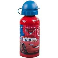 Pos 68785 Cars - Botella infantil con tapón antigoteo, diseño de Cars