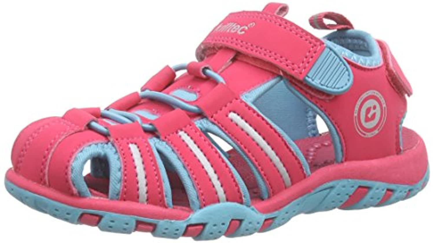 Killtec Unisex Kids' Marimba Jr Open Toe Sandals Pink Size: 1 UK