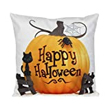 SEWORLD Happy Halloween Kissenbezug Sofa Taille Wurf Kissenbezug Home Decor L