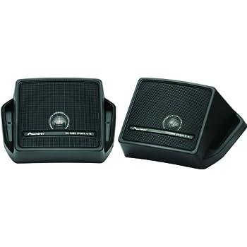 Pyramid 2060 300W 3-Way Mini Pod Box Speakers for Car//Truck//Van Dash