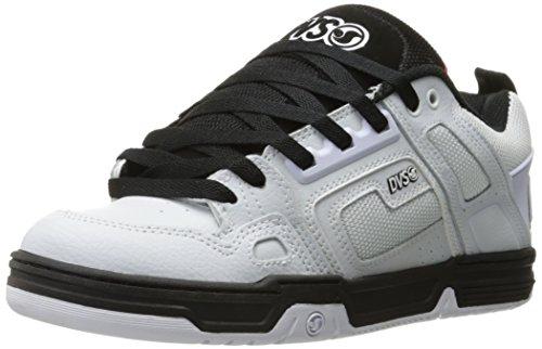 Chaussure Dvs Comanche Blanc-Noir-Rouge (Eu 40 / Us 7 , Blanc)