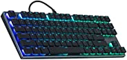 Cooler Master Sk-650-Gklr1-US SK650 Mechanical Keyboard with Cherry Tenkeyless SK-630-GKLR1-US