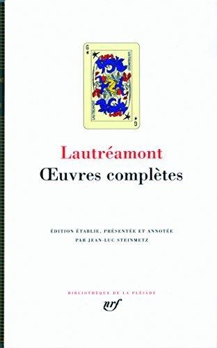 Oeuvres Completes (Bibliothèque de la Pléiade) by Comte de Lautreamont (2009-10-03)