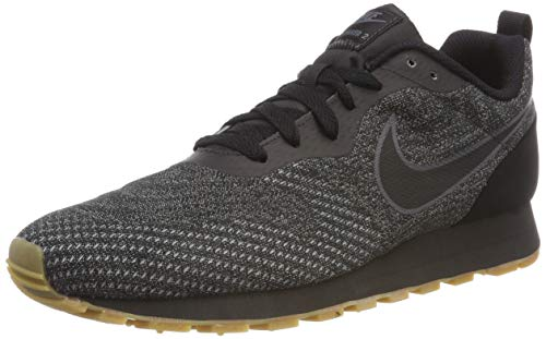 NIKE Herren Sneaker MD Runner 2 Eng Sneakers, Schwarz Black/Dark Grey 010, 45 EU