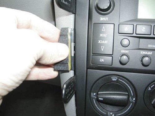 Brodit 652808 ProClip Halterung für Volkswagen Golf IV 98-03/Bora 99-05/Golf IV Variant 00-04, abgewinkelt
