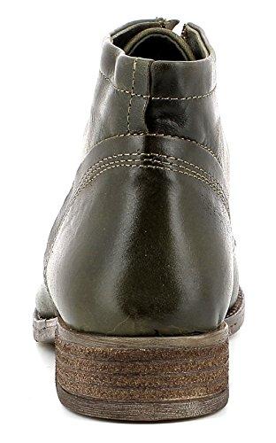 Josef Seibel Damenschuhe 99603 Sienna 03 Damen Leder Desert Boot mit Schnürung, Schnürstiefelette, Einlegesohle Oliv