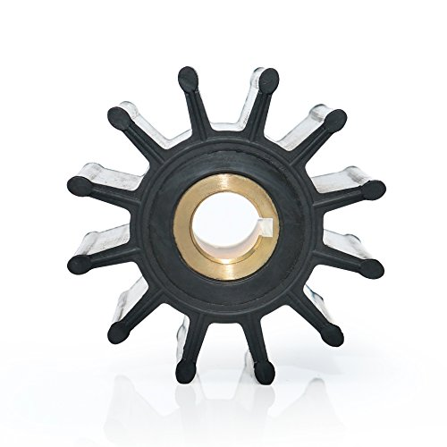 Pleno Power Plus Marine Impeller Repuesto para JABSCO 18958-0001 SHERW17000K CEF 500164