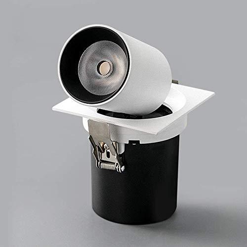 Magosca Foco Empotrado LED De 12 W Luces De Techo Retráctiles De...