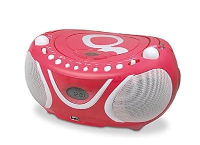 Metronic Gulli Radio/Lecteur CD / MP3 Portable pour Enfant avec Port USB de Metronic