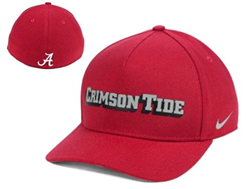 Nike Alabama Crimson Tide Dri-Fit DNA Verbiage Flex-fit Hat Cap Osfm Flex Cap
