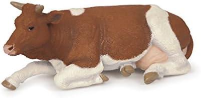Papo - 51151 - Figurine - Animaux  - Vache Couchée SimHommes tal | à Gagnez Un Haut Admiration