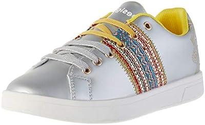 Desigual Shoes Cosmic Exotic Moon, Zapatillas para Mujer, Plateado (Silver 2004),