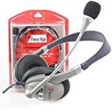 Power Star CASQUE-CHAT Casque Noir/Gris