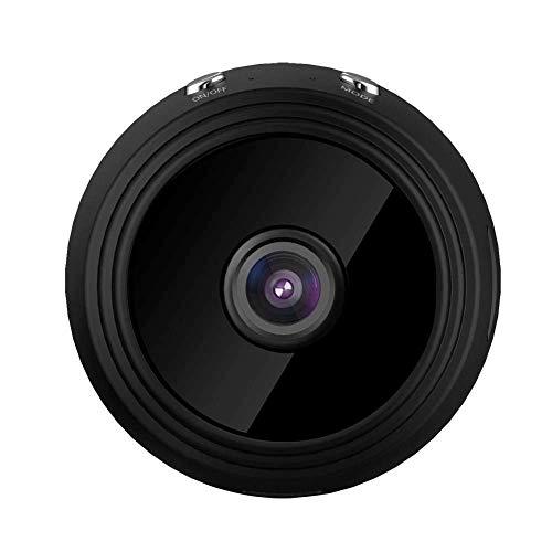 MYXMY Versteckte Kamera Wi-Fi-Mini-Spionage-Kamera HD 1080P Kleine Nanny-Cams mit Mobiltelefon-App Remote View & Playback mit eingebauter Batterie/magnetischem Design/Bewegungserkennung/Nachtsic