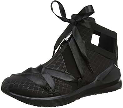 Puma Women's Fierce Rope Satin Ep Wn S Black Multisport Training Shoes - 8 UK/India (42 EU)(19053802)