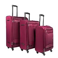 كاميلينت حقائب سفر بعجلات 3 قطع , ماجينتا , FD850004-MAGENTA