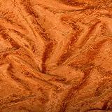 Pannesamt Stoff Meterware - 147cm breit - Terracotta
