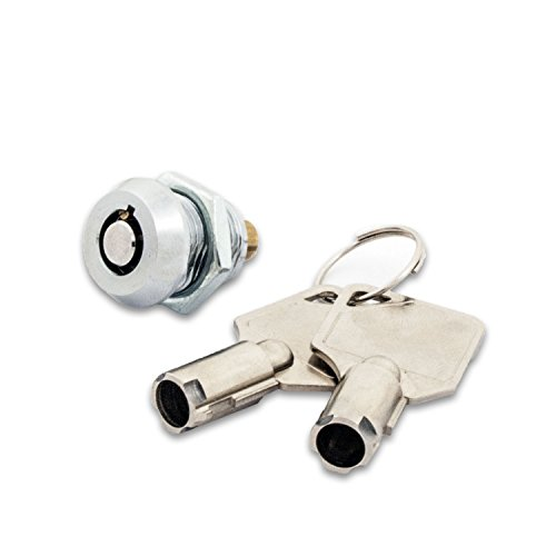 FJM Security Products MEI-2615 Miniature Tubular Push-Lock-Packung mit 4 St-ck