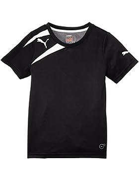 Puma Spirit Training - Camiseta de Equipación de Fútbol para Niños, color blanco/negro, talla 6 Años (Talla fabricante...