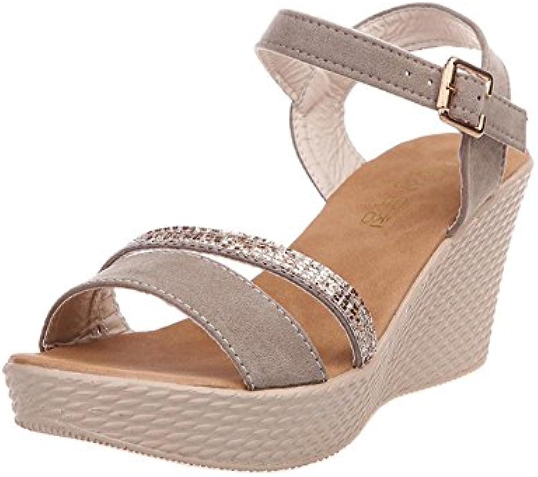 Sandali donna,Bmlaiworld Donna Tacco - alto casual sandali cuneo - Tacco Summer Beach infradito piattaforma sandali-Sandali... Parent e25b2c