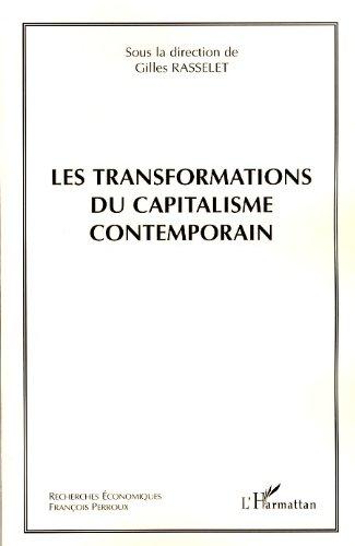 Lire un Les transformations du capitalisme contemporain pdf