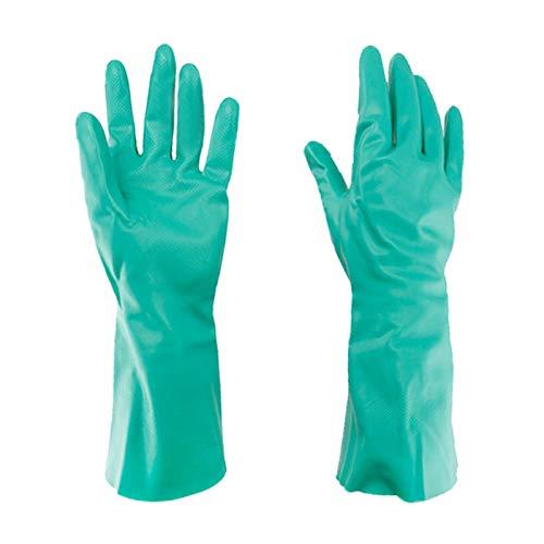 Gloves FANGQIAO SHOP Neopren-Handschuhe Anti-Korrosions-, Säure-und Alkali-beständiges Öl-industrielle Anti-chemische Handschuhe Wear-beständig und haltbar