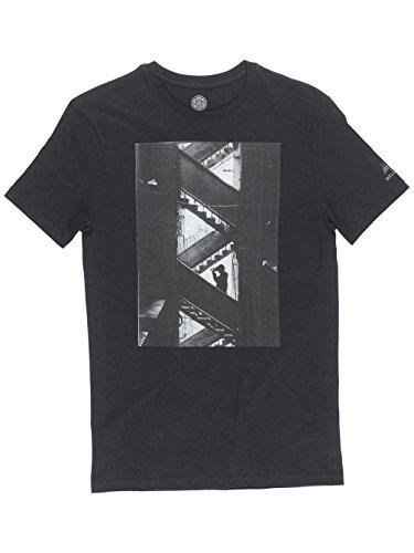 Herren T-Shirt Element Ep Jake Darwen T-Shirt flint black a