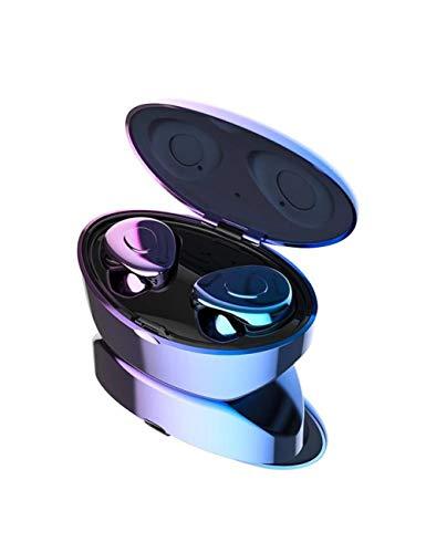 HPYS Bluetooth-Kopfhörer In-Ear-Stereo-Bluetooth 5.0-Headset mit Rauschunterdrückung und Doppelmikrofon mit Ladekiste G-1 G1 Stereo