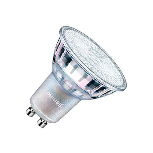 Bombilla LED GU10 Regulable PHILIPS CorePro MAS spotVLE 4.9W 60° Blanco Cálido 2700K efectoLED