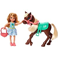 Barbie Club Chelsea Doll  + Pony (Blonde) Toys, GHV78