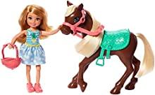 Barbie- Playset Bambola Chelsea con Pony e Accessori Giocattolo per Bambini 3+ Anni, GHV78