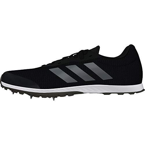 adidas XCS, Scarpe da Atletica Leggera Uomo, Nero Cblack/Ngtmet/Carbon, 43 1/3 EU