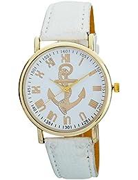 L.A. Minutes Analog White Dial Women's Wrist Watch - LWL 024, White