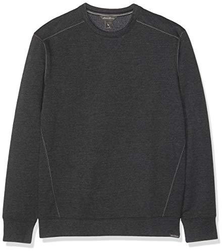 Eddie Bauer Herren Camp Fleece Sweatshirt, Gr. L, Grau meliert Camp Fleece