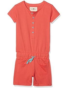 Ben & Lea Jumpsuit für Mädchen, stylische Jumper für Kinder kurz, ärmellos und ohne Kapuze