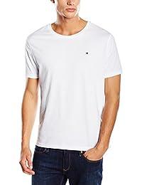 Tommy Hilfiger Herren T-Shirt Cotton cn tee ss icon