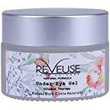 Reveuse Vitamin Therapy 30g Under Eye Gel for Dark Circles, Puffy Eyes and Anti-Wrinkles for Men and Women, Best Under Eye Cream- (30 g/ 1.05 oz)