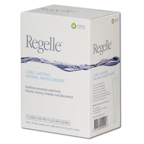 Regelle Vaginal Moisturiser - Pack of 12 Tubes