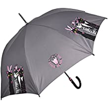 Paraguas largo mujer doppler fiber automático royal cats